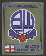 Panini - Football 82 - # 337 Bolton Foil Badge