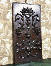 Home abundance symbol panel Antique french oak carving architectural salvage