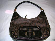Michael Kors Ladies BLACK Signature Jacquard Braided Purse Bag NWT