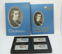 Time Life Great Men of Music Robert Schumann 4 Cassette Tape Set Pre-Owned