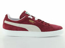 Uomo Puma Suede Classic Sneakers Bordò 41