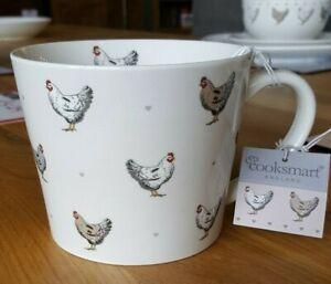 Cooskmart Farmers Kitchen Conical Mug, Chicken Design