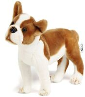 Baldric the Boston Terrier Boxer | 16 Inch Large Stuffed Animal Plush Dog