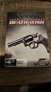 Death Wish: The Vigilante Collection DVD set (5 Discs) AUS R4 - RARE