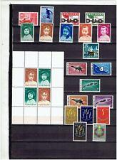 SURINAME uit 1963 en 1964 cpl series Ongebruikt met minimale plakker