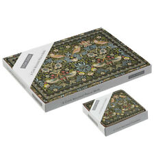 Stow Green Strawberry Thief Placemats and Coasters William Morris Design Mats