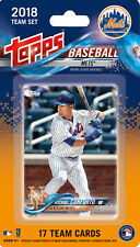 New York Mets 2018 Topps Factory Sealed Team Set THOR Harvey Cespedes Conforto