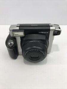 Fujifilm Instax Wide 300 Instant Film Camera - Black/Silver Clean N Functioning