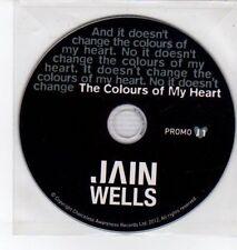 (DQ389) Jain Wells, The Colours of My Heart - 2012 DJ CD
