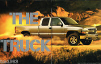 Big 1999 Chevy SILVERADO PickUp Truck Brochure/Catalog:LS, LT,1500,2500,4x4, '99