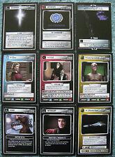 Star Trek CCG Q Continuum Complete Common Card Set (40 Cards)