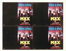 Rolling Stones At The Max Slick Original Poster