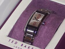 Ted Baker Women's Right on Time Rectangle Lipstick Watch TE4050