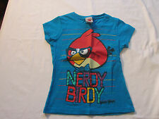 "Girl's ""Angry Birds""  top sz M"