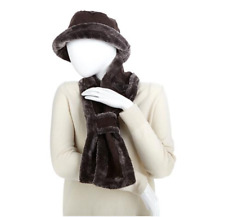 Sporto® Faux Fur Hat and Scarf Set, One size fits All