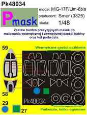 MIG-17F LIM-6BIS Pintura Máscara para Smer Kit #48034 1/48 pmask