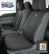 Ford SuperDuty Rear Carhartt Seat Covers by Covercraft - Gravel, Rear CC 60/40