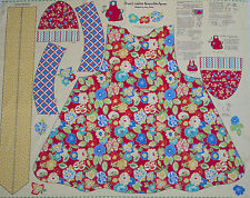 Penny rose patchwork tissu panel tablier, série Church Ladies by Mary mulari