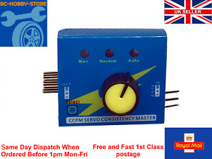 Servo Tester for RC Consistency Master ESC Controller CCPM 3 Channels Multi 3CH