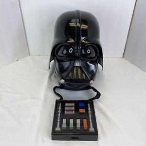 Darth Vader Helmet Hasbro Star Wars Costume Star Wars Voice Changing WORKING