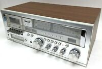 Soundesign PLL AM-FM Stereo Receiver Cassette 8 Track Recorder Model 5928 AS-IS