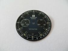 Cadran Montre Tissot Navigator Vintage - Lemania 1277 - Bleu
