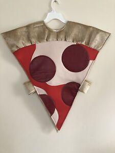 Child's Wishcraft Plush Pepperoni Pizza Slice Costume - Size 6/7 Advertisement