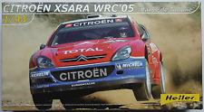 "Heller - Citroen Xsara WRC ´05 ""Rallye de Turquie"" 1:43 Bausatz / Kit Neu/OVP"