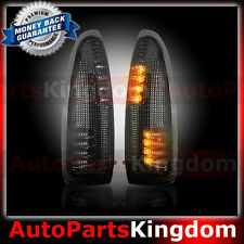 Smoke Lens AMBER LED Side Mirror Marker Light 2003-2007 Ford F250 F350 F450 F550