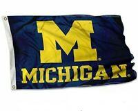College Flags and Banners Co. Michigan Wolverines Hail to the Victors 3*5 FT