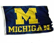 College Flag Banners Co. Michigan Wolverines UM 3*5 FT