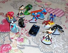 DC comics supereroi no Marvel  Batman superman flash e altri 12 MINI FIGURE