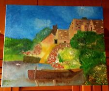 """Original-One of Kind-Oil/Canvas Painting-""""Dutch Country""""-Signed-COA-Listed Art"""