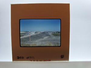 New Road & Dump Truck Photographic Slide KodaChrome Transparency Sept 1961