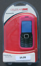 MODEL 356806 SILICONE GEL CELL PHONE CASE FOR NOKIA 2330 AND 2320 PHONE