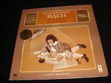 JEAN-SEBASTIEN BACH<>DENIS MANUEL<>LP Vinyl~France Pressing<>ALB-6012