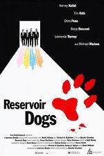 RESERVOIR DOGS (1992) ORIGINAL MOVIE POSTER ROLLED - CANNES FILM FESTIVAL - MINT