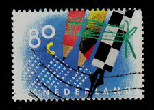 NETHERLANDS  SCOTT# 844  USED   LETTER WRITING DAY
