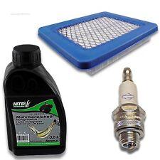 Wartung Luftfilter Zündkerze Briggs Stratton 3-5 PS Quantum 625 650 675 Series