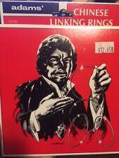 Adams' Chinese Linking Ring Set Magic Trick