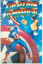 Marvel Comics Postcard: capitán América (Joe Jusko) (Estados Unidos, 1992)