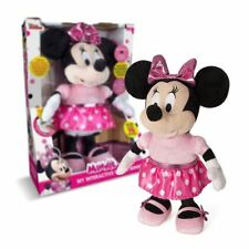 MY INTERACTIVE FRIEND MINNIE MOUSE PLUSH DOLL TOY KIDS PINK RRP £50 TEDDY