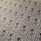 FEUILLE SHEET TIMBRE RÉSISTANCE BROSSOLETTE N°1103 x50 1957 NEUF ** LUXE MNH