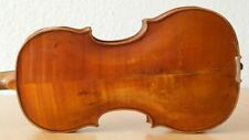 old violin 4/4 geige viola cello fiddle label FRANCESCO GOBETTI