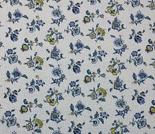 Waverly Elijah Bluebell White Fl Indoor Multi Use Fabric By The Yard 54 W