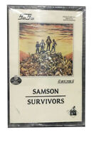 Samson Bruce Dickinson Survivors Cassette NWOBHM Grand Slamm SLAMC18 New Sealed
