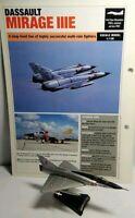 DEL PRADO DIECAST COMBAT AIRCRAFT 1:136 SCALE MIRAGE III-C - NEW