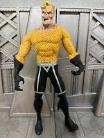 DC Direct Blackest Night Series 3 Black Lantern Aquaman Figure