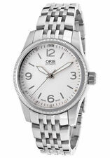 Oris Swiss Hunter Team Diamond Stainless Steel Watch 733-7649-4031-MB
