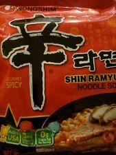 3Pcs NONGSHIM 120g Shin Ramyun Hot Spicy Instant Noodle Ramen Korean Food